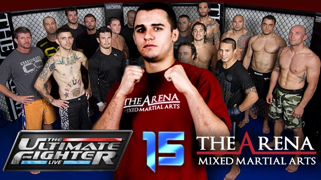 The Ultimate Fighter 15 - Myles Jury