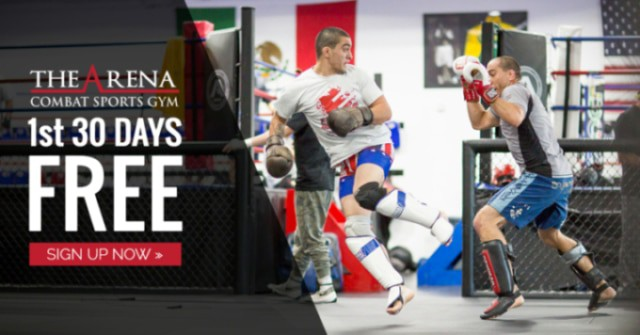 Get Your First 30 Days Free at The Arena